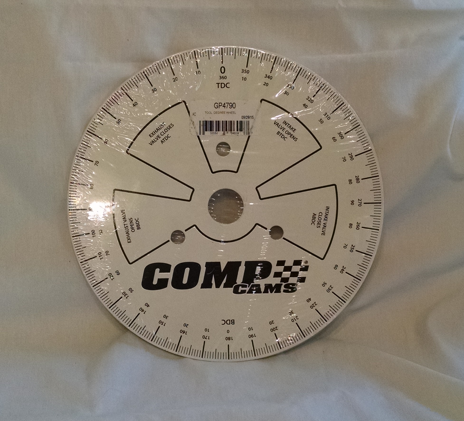 DEGREE WHEEL  # C47032      $ 20.00