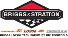 Briggs 206 Tech Forum